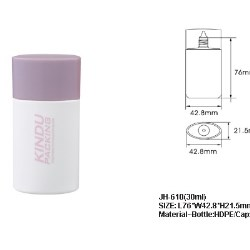 HDPE 3-layered foundation bottle